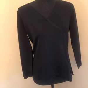 NWT Chico's Black With Double Breasted Look